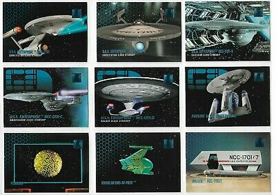 Star Trek Phase One Complete 100 Base Trading Card Set SkyBox  95