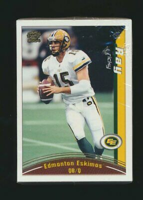 2004 Pacific CFL Complete Set of 110 Cards  Dickenson Ray  Calvillo CFL Football