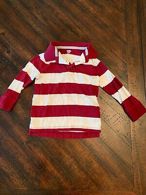 Old Navy Boys Striped Polo Shirt 2t