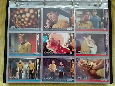 Star Trek The Original Series Complete 246 Base Trading Card Set SkyBox - 1999