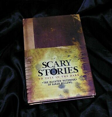 SCARY STORIES To Tell in the Dark ~ The Haunted Notebook of Sarah Bellow  1st Ed