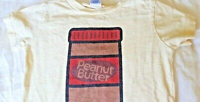 RabbitSkins Toddler Shirt Shortsleeve Peanut Butter Pale Yellow Boys/Girls 2/3Y