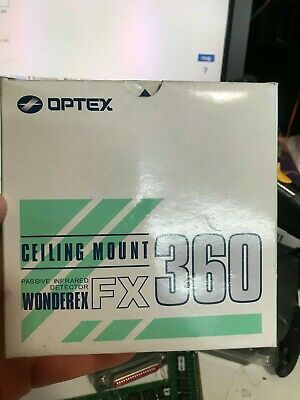 Optex Ceiling Mount Passive Infrared Motion Detector FX360 Brand New