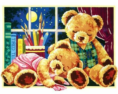 """Sweet Dreams"" Printed Needlepoint Tapestry Canvas 10457"