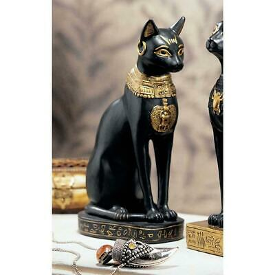 "8""  Egyptian Bastet Feline Cat Goddess Sculpture Statue Figurine"