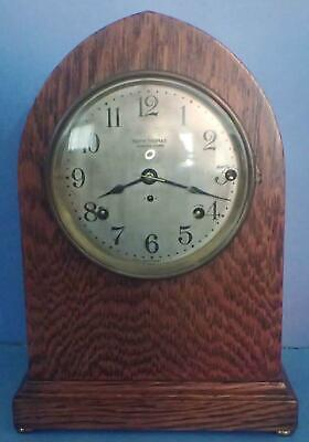 Antique Seth Thomas 5 Bell Sonora Chime Clock 4 Restoration Or Parts