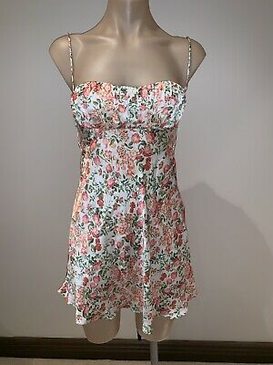 Bec And Bridge Camellia Delights Mini Dress Size 6 RP $280