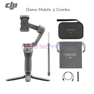 DJI Osmo Mobile 3 Combo is a foldable universal joint for smart phones