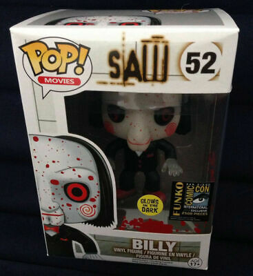 Funko POP Movies Saw Billy Bloody Custom #52 Comic-Con 2014 Exclusive with Box