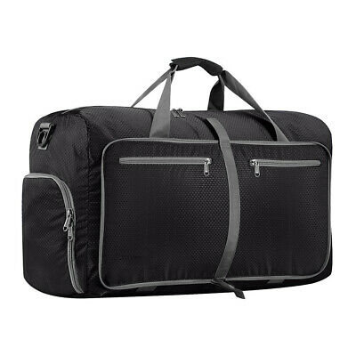 60L Duffle Bag Waterproof Foldable Roll Round Travel Sports Gym Carry Luggage