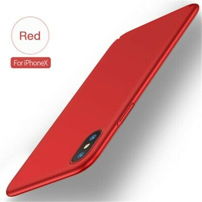 Case For iPhone XS Max XR 8 6s Casual Ultra Thin Slim Matte Hard Back Cover Skin