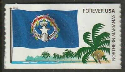 Us 2011 Scott 4313 Northern Marianas Flags Of Our Nation Set 5 Mvf Forever Stamp
