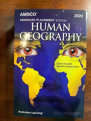 AMSCO ADVANCED PLACEMENT HUMAN GEOGRAPHY (2020 Latest Edition) By David Palmer