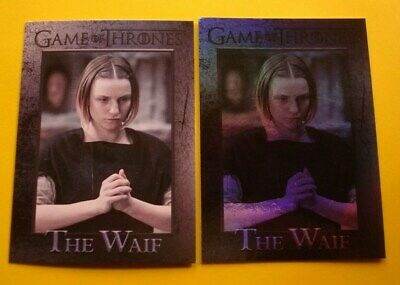 Lot GAME Of THRONES Season 5 Parallel FOIL & Base Card # 87 The WAIF