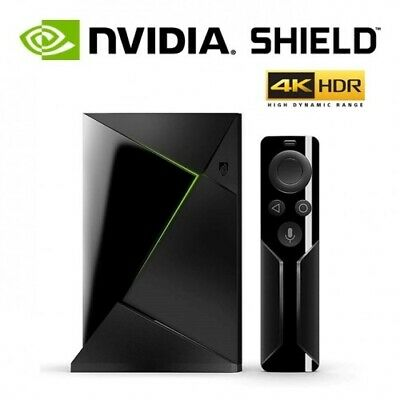 NVIDIA Shield TV Box 4K HDR Android Smart Streaming Media Player 16GB + Remote