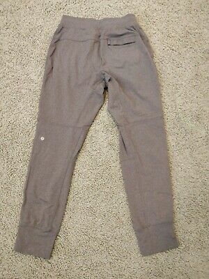 1bfb59fd97 LULULEMON ATHLETICA SEAWALL Track Pant Dark Grey Size Small ...