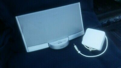 BOSE SOUND DOCK Speaker Rechargeable Battery 30 pin iPod & Lightning Adapter VGC