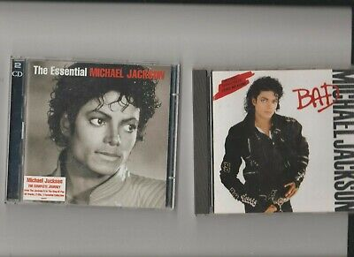 Michael Jackson : The Essential Michael Jackson + Bad / TWO CD Albums