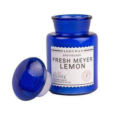 Paddywax Duftkerze Apothekerflasche Scented Candle Fresh Meyer Lemon