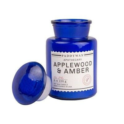 Paddywax Duftkerze Apothekerflasche Scented Candle Applewood & Amber