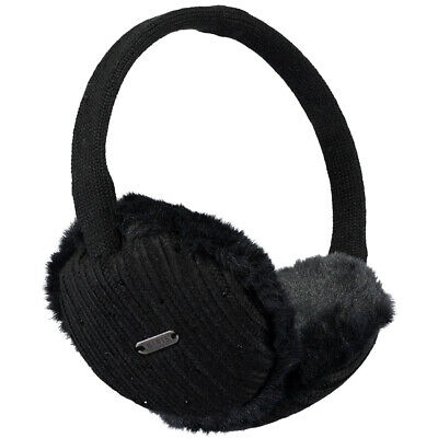 Barts NEW Women's Glam Earmuffs - Black BNWT