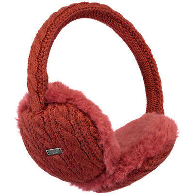 Barts NEW Women's Monique Earmuffs - Rust BNWT