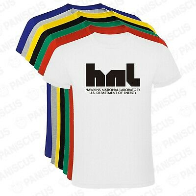 Camiseta hombre Hawkins National Laboratory The Stranger Things tallas y colores