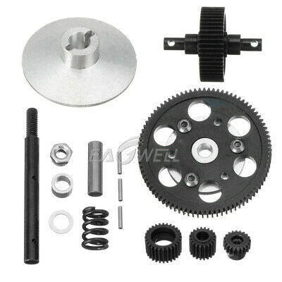 Heavy Duty Steel Metal Transmission Gear Kit For 1/10 RC Car Axial SCX10 Gearbox
