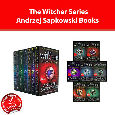 Witcher Series Andrzej Sapkowski Books Collection Set Young Adult pack NEW