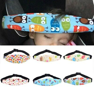 Baby Child Head Support Stroller Buggy Pram Car Seat Belt Sleep Safety Strap UK