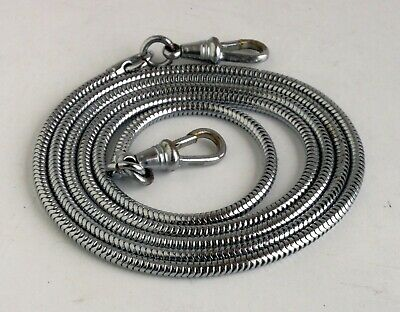 Vintage Chrome Snake Chain Camera Strap Made In Germany Suits Leica Contax - EXC