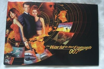 007 JAMES BOND THE WORLD IS NOT ENOUGH PHONECARDS  SET OF 10 LTD EDT of 2000