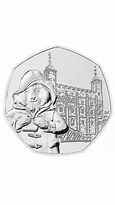 Paddington Bear At The Tower Of London.50p Coin.Straight From Minted Bag.