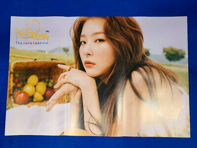 Red Velvet - The ReVe Festival Day 2 Official Unfolded Poster Hard Tube Case