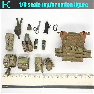 Y30-29 1//6 scale ES 26033R French special forces M4 Mag pouch*2