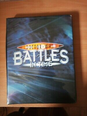 Doctor Who Battles in Time folder and 355 cards Exterminator Annihilator