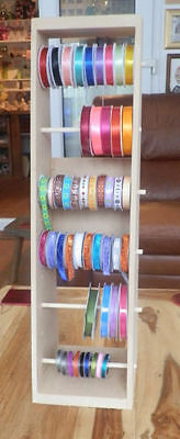 RIBBON STORAGE/UNIt/STAND/HOLDER/RACK FOR CRAFT now available in 3 sizes