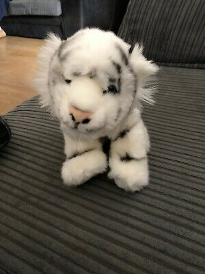 West Midlands Safari Park Small White Tiger Cuddly Toy