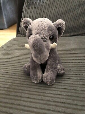 West Midlands Safari Park Small Elephant Cuddly Toy