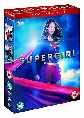 Supergirl Season 1 and 2 DVD New UNSEALED COSMETIC DAMAGE