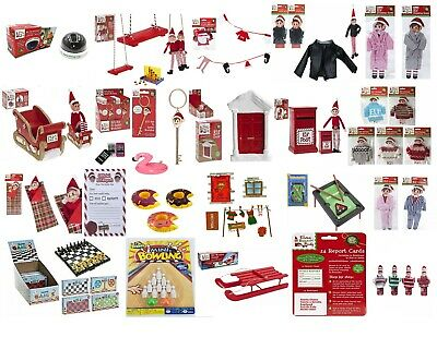 Elf Accessories Props Stock On The Shelf Ideas Kit Christmas Games Clothes