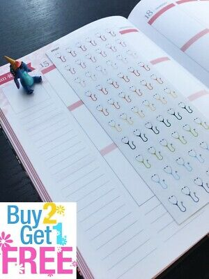 PP277 54pcs Little First Aid Life Planner Stickers for Erin Condren