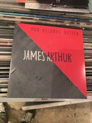 james arthur cd promo you deserve better france 1 track