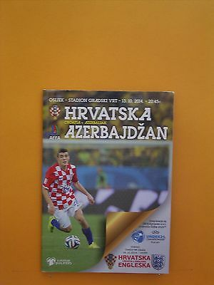 European Championship Qualifier - Croatia v Azerbaijan - 13th October 2014