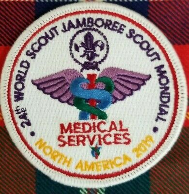 24th 2019 WORLD SCOUT JAMBOREE MEDICAL SERVICES IST PATCH