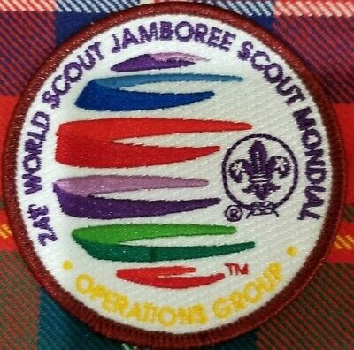 2019 24th World Scout Jamboree Operations Group Staff IST Badge Patch
