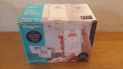 NEW Drayton Wish 2 MiGenie MT724R Internet Connected Dual Channel Thermostat Kit