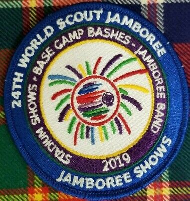 2019 24th World Scout Jamboree Shows Staff IST Embroidered Patch