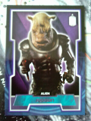 Doctor Who Purple Parallel Chase Card - 76 Judoon #67/99 Topps - 2015