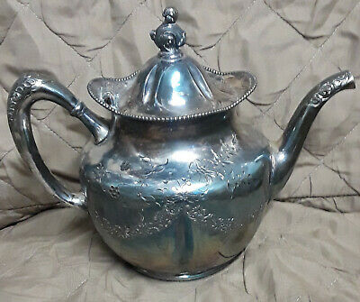 Pairpoint Mfg. Co. Quadruple SilverPlate Tea Pot